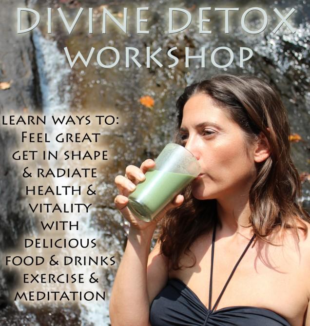 divine detox workshop