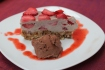 Raw Strawberry Ice Cream Cake