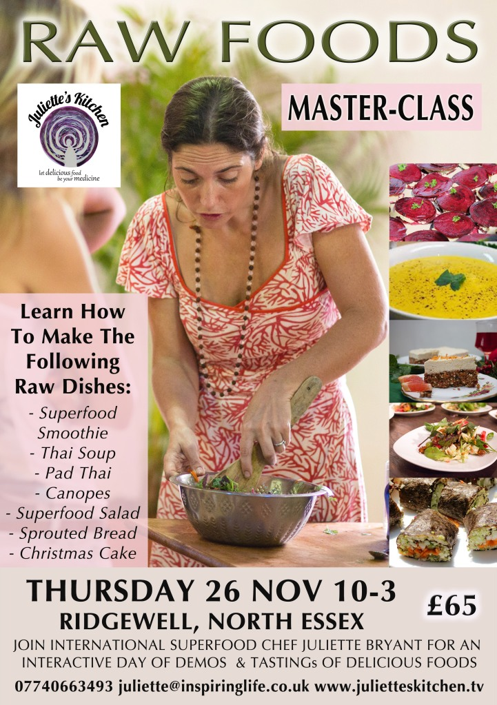 raw food masterclass