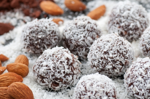 Raw Coconut Truffles